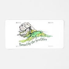 Carmel Sea Otter Aluminum License Plate