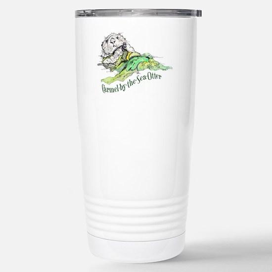 Carmel Sea Otter Stainless Steel Travel Mug