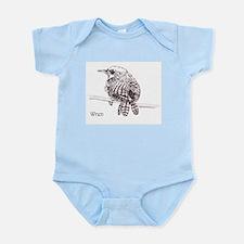 Little Brown Wren Onesie