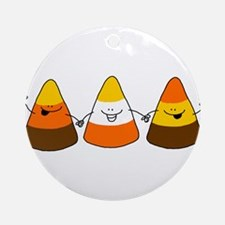 Candy Corn Ornament (Round)