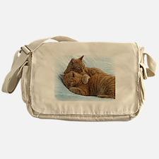 Brotherly Love Messenger Bag