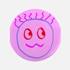 Pink Blue Goofball Gee Kyra's fave Button