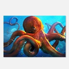 Octopus Postcards (Package of 8)