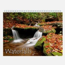 Waterfalls Wall Calendar