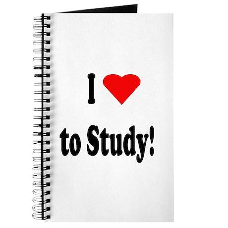 I Heart (Love) to Study Journal
