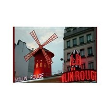 """""""18 Hours in Paris"""" Rectangle Magnet"""