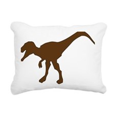 Cute Dino Rectangular Canvas Pillow