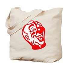 Clown Head Tote Bag