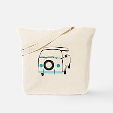 Vintage Bus Tote Bag