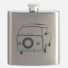 Vintage Bus Flask