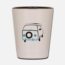 Vintage Bus Shot Glass