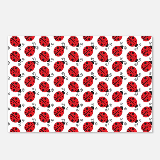 Special Ladybugs Postcards (Package of 8)