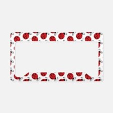 Special Ladybugs License Plate Holder