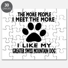I Like More My Greater Swiss Mountain Dog Puzzle