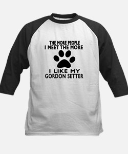 I Like More My Gordon Setter Tee