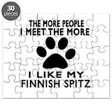 I Like More My Finnish Spitz Puzzle