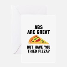 Abs Are Great Greeting Card