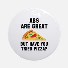 Abs Are Great Ornament (Round)