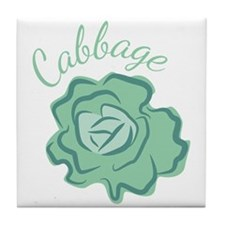 Cabbage Head Tile Coaster