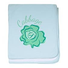 Cabbage Head baby blanket