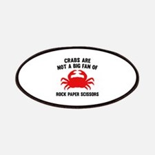 Crabs Are Not A Big Fan Patches