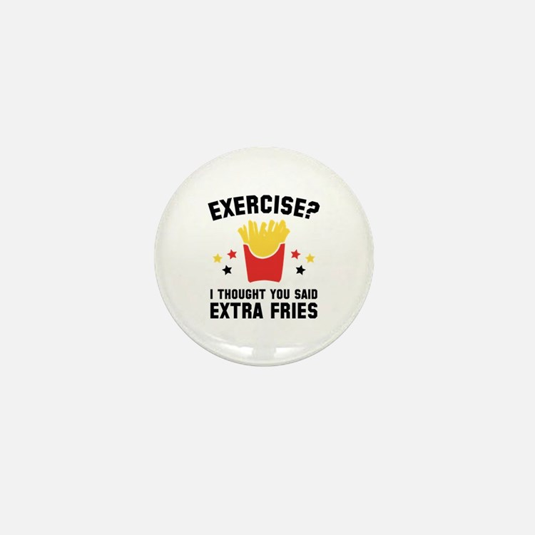 Exercise? Mini Button