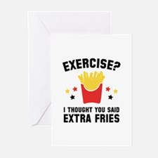 Exercise? Greeting Cards (Pk of 20)