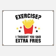Exercise? Banner