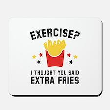 Exercise? Mousepad