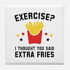 Exercise? Tile Coaster