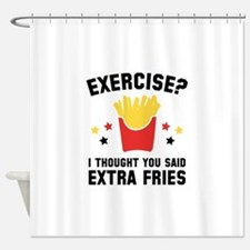Exercise? Shower Curtain