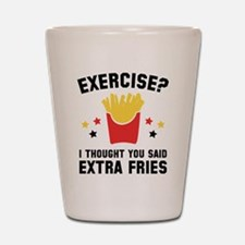 Exercise? Shot Glass