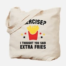 Exercise? Tote Bag