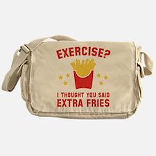 Exercise? Messenger Bag
