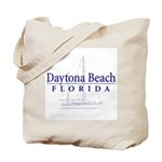 Daytona Beach Sailboat - Tote or Beach Bag