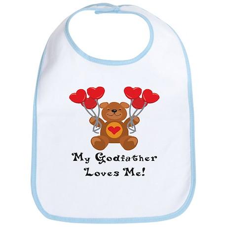 My Godfather Loves Me! Bib