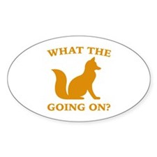What The Fox Going On? Decal
