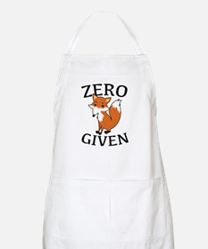Zero Fox Given Apron