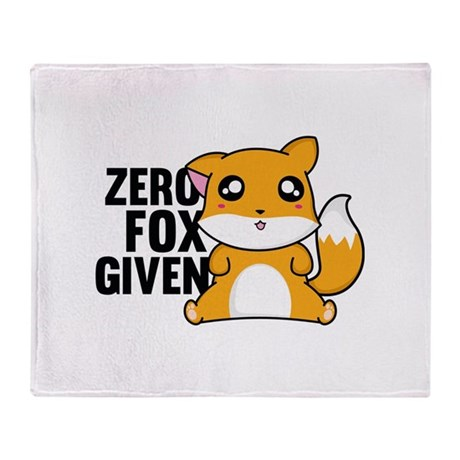 Zero Fox Given Stadium Blanket by VectorPlanet