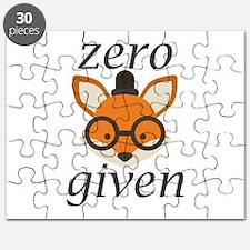 Zero Fox Given Puzzle