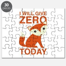 I Will Give Zero Fox Today Puzzle