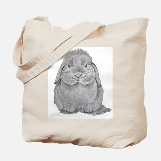 Holland Lop by Karla Hetzler Tote Bag
