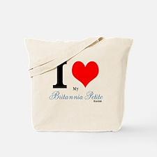 I heart my Britannia Petite Rabbit Tote Bag