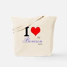 I heart my Beveren Tote Bag