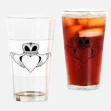 Cute Scottish st patrick Drinking Glass