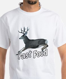 Fast Food Buck Deer Shirt