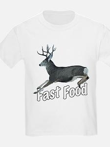 Fast Food Buck Deer T-Shirt