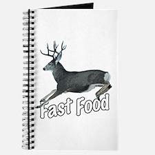 Fast Food Buck Deer Journal
