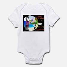 POLAR PIRATES... Infant Bodysuit