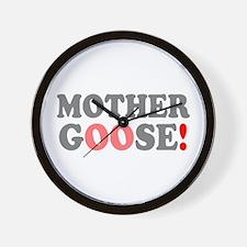 MOTHER GOOSE! - Wall Clock